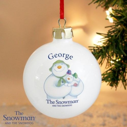 The Snowman and the Snowdog Bauble